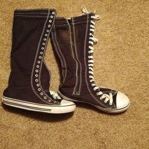 West Blvd size 81/2 knee high sneaker